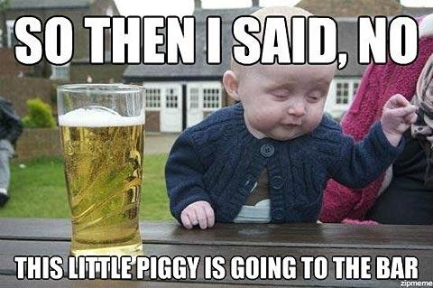 Funny Meme Its Friday : Steve in a speedo?! gross!: friday funny 350: drunk baby