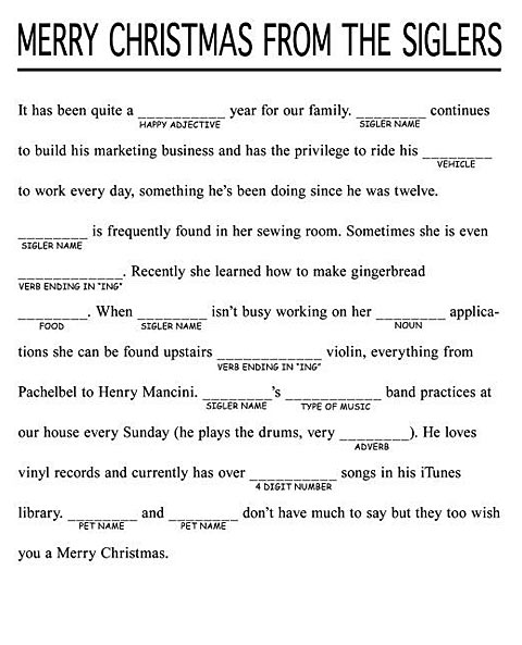 Free adult mad libs