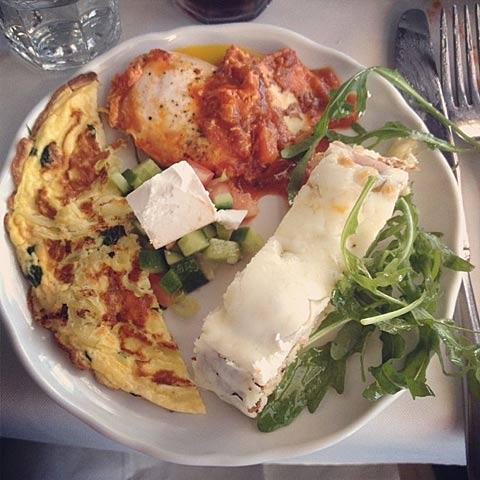 Manta Ray Tel Aviv Breakfast Breakfast at Manta Ray on The